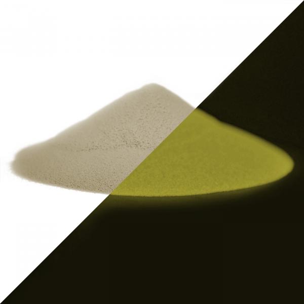 Leuchtpulver Natur-Gelb 40 g - Nachleuchtende Farbpigmente