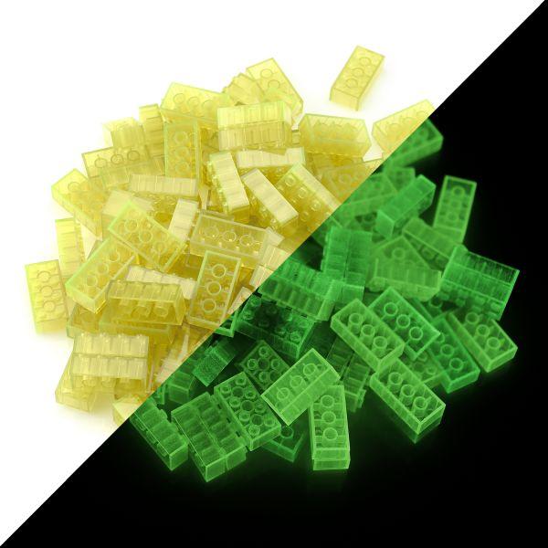 Spielsteine - Gelb (100 Stück, Typ 4x2)