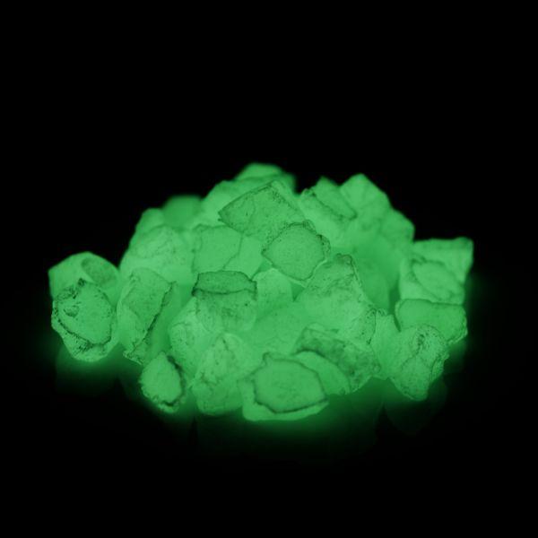 Leuchtsteine Grün 300g - Im Dunkeln nachleuchtende Dekosteine