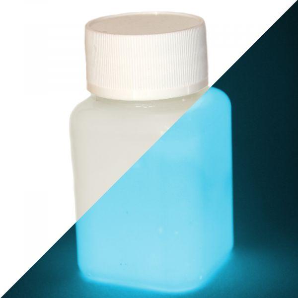 Leuchtfarbe Natur-Blau 100 g