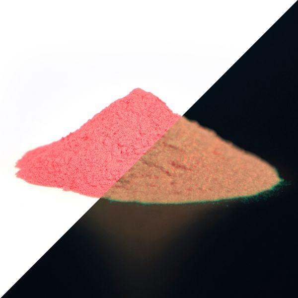 Leuchtpulver Rot 40g - Nachleuchtende Premium-Pigmente