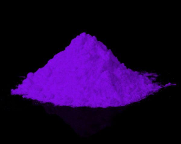 Leuchtpulver Lila / Purpur 40g - Nachleuchtende Premium-Pigmente