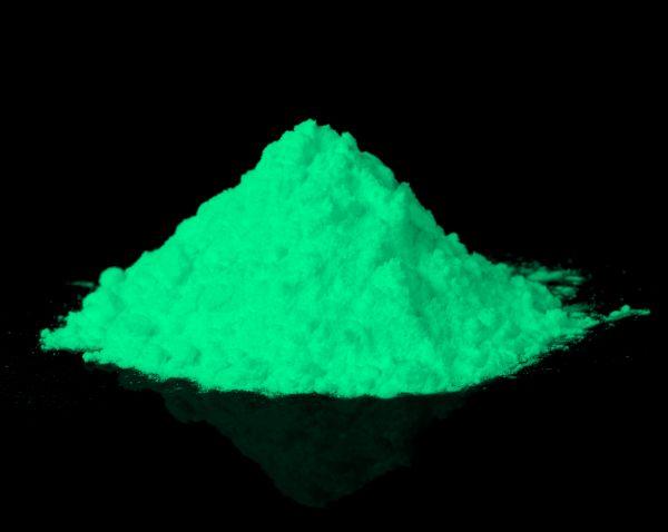 Leuchtpulver Grün 40g - Nachleuchtende Premium-Pigmente
