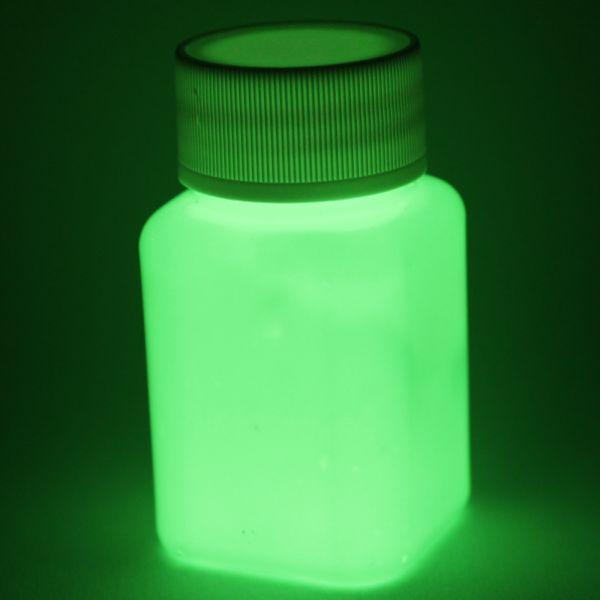 Premium Leuchtfarbe Grün 100ml - Im Dunkeln leuchtende Farbe