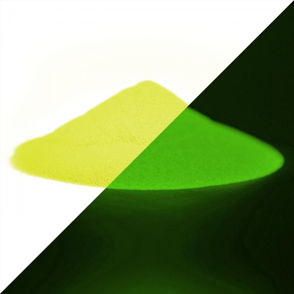 Leuchtpulver Gelb-GelbGrün 40 g - Nachleuchtende Farbpigmente