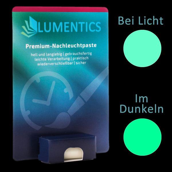 Uhrenzeigerfarbe Grün-Grün - Feine Leuchtpaste