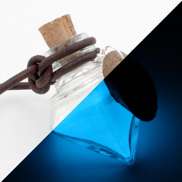 "Leucht-Mana ""Mannaz"" (blau)"