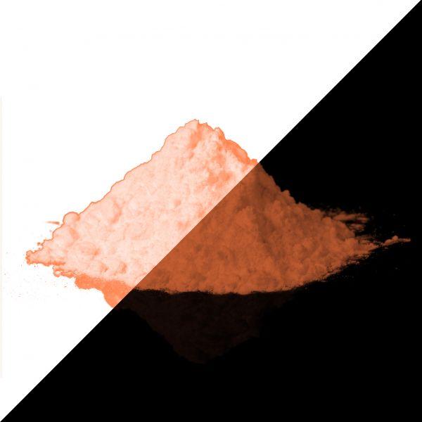 Leuchtpulver Orange 40g - Nachleuchtende Premium-Pigmente (Typ: Sulfit)