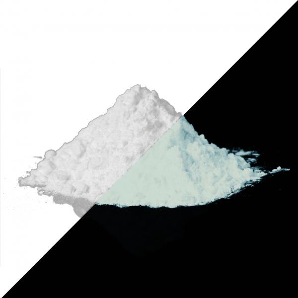 Leuchtpulver Weiß-Weiß 40 g - Nachleuchtende Farbpigmente