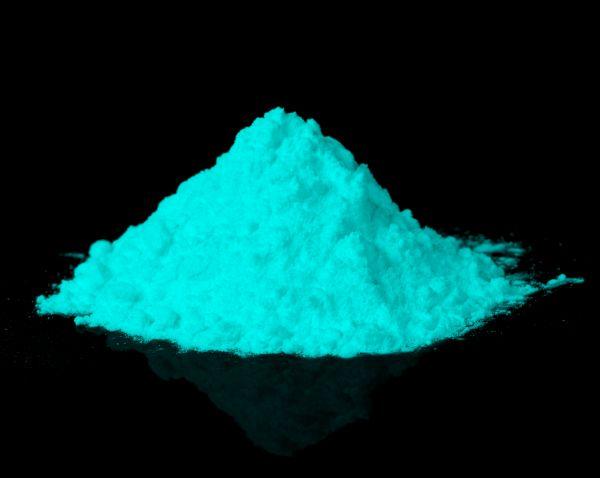 Leuchtpulver GrünBlau 40g - Nachleuchtende Premium-Pigmente