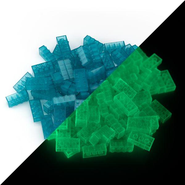 Spielsteine - Blau (100 Stück, Typ 4x2)