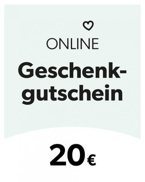 Geschenkgutschein 20 Euro