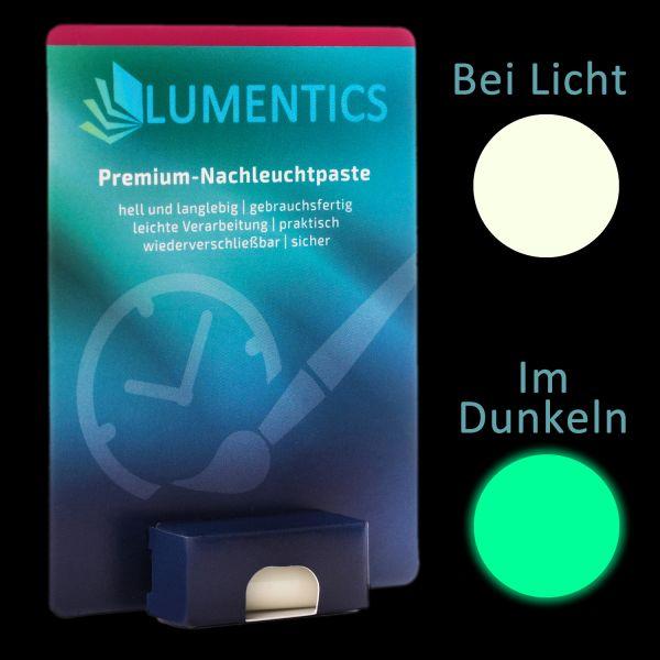 Uhrenzeigerfarbe Natur-Grün - Feine Leuchtpaste