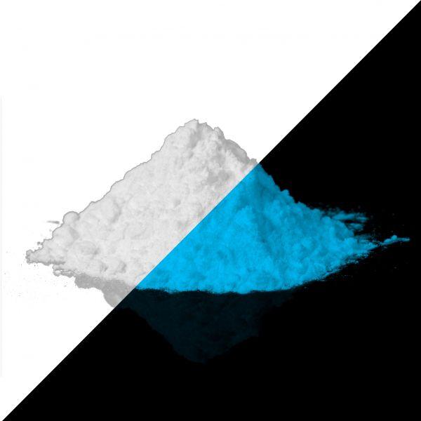 Leuchtpulver Blau / Hellblau 40g - Nachleuchtende Premium-Pigmente