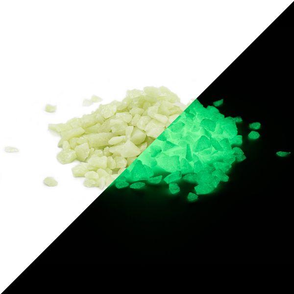 Nachleuchtgranulat Grün 4mm - 100g Leuchtsteinchen