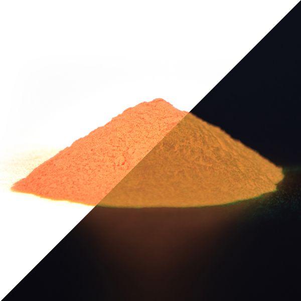 Leuchtpulver Orange 40 g - Nachleuchtende Premium-Pigmente (Typ: SrAl2O4)