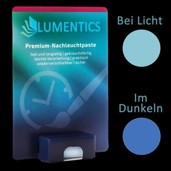 Uhrenzeigerfarbe Blau-Blau