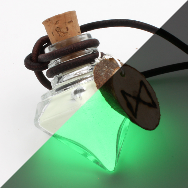 """Leucht-Mana """"Dagaz"""" (grün)"""