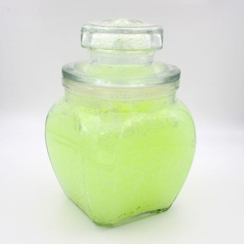 Lichtspeicher-Glitter-Granulat Gelb//GelbGrün Nachleuchtender Wasserspeicher mi